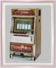 C.E.I. Video Poker Machine